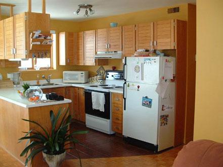 Armoires de cuisine le d capeur a c inc - Teindre armoire de cuisine ...