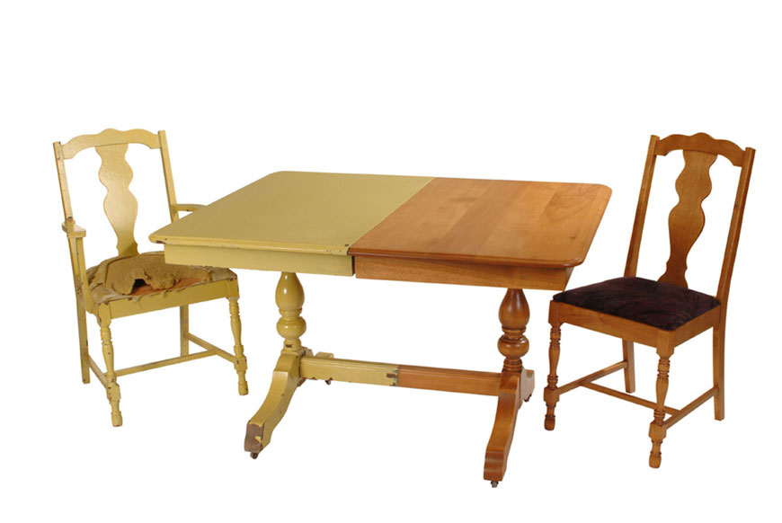 Table et chaises (Avant-Après)